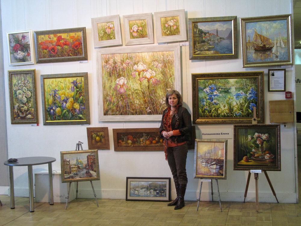 Арт салон ЦДХ 2010г. Елена Калашникова