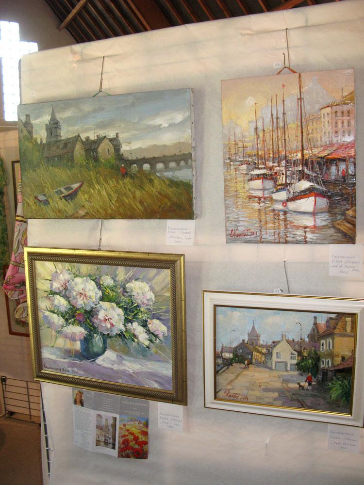 Выставка в Денвилле. Нормандия. 23-24 июля 2011г. Елена Калашникова