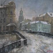 Москва. Пятницкая ул. 40х40 2014г
