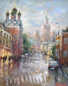 Москва. Таганка.х.м. 40х50 2016г