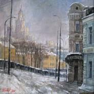 Москва. Вид на Овчинниковскую наб.