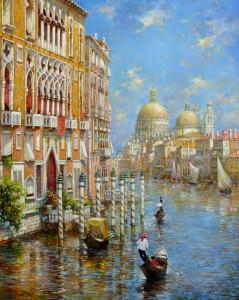 Венеция.х.м. 65х81 2021г.