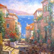 Августовский полдень на Лазурном берегу