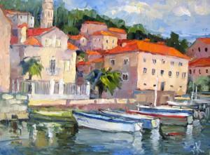 Черногория. Перест лодки
