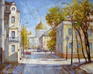 Гагаринский пер. Москва