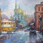 Март в Москве