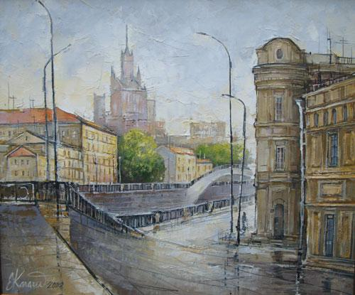 Москва. Овчинниковская набережная