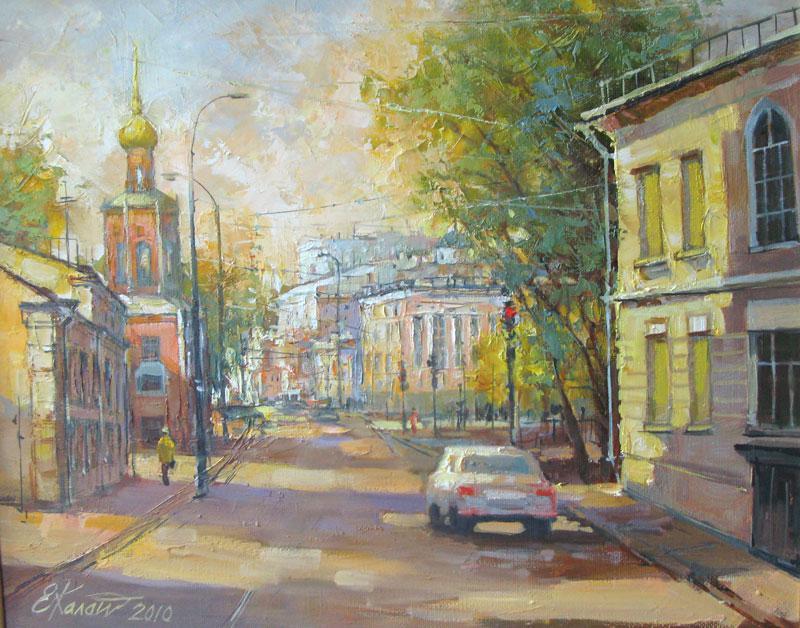 Москва. Вид на улицу Петровка