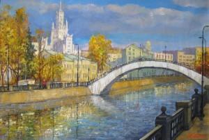Москва. Овчиниковская набережна