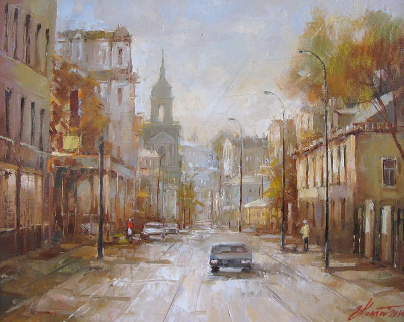 Москва. Пятницкая улица