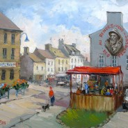 Работа написана на конкурсе живописи в г. Портбае и заняла 3 место среди профессионалов