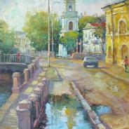 Санкт-Петербург. Собор Николы Морского. 40х60 .