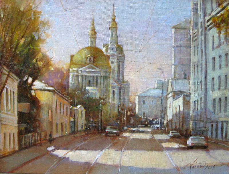 Москва.Сретенский бульвар