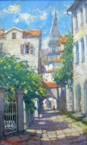 Старая улочка в г. Перест. Черногория