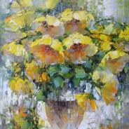 Желтые шары